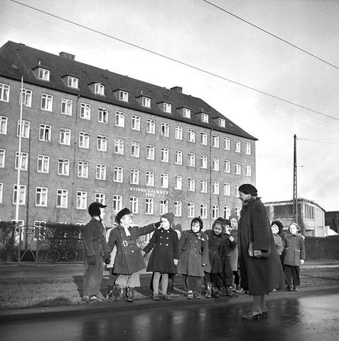 Kvindehjemmet på Jagtvej anno 1945